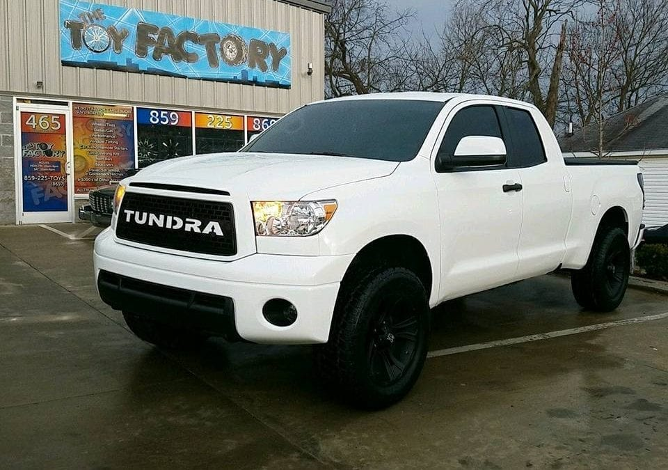 Tundra Lift and Tires